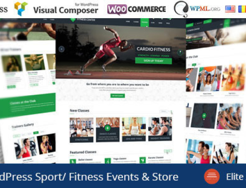 GYM the best WordPress Theme for Sports 2015
