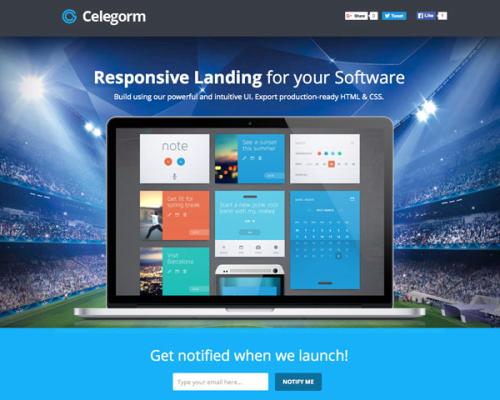Celegorm Instapage
