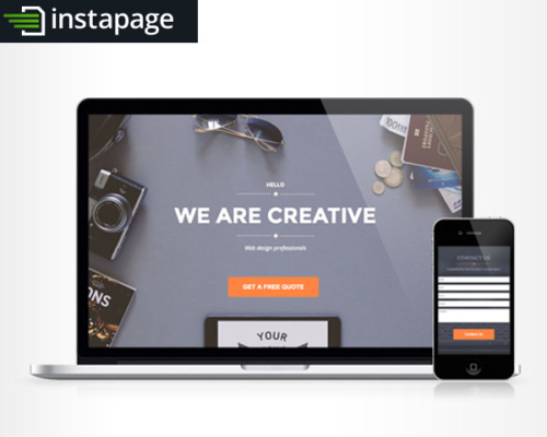 Agency Instapage Template